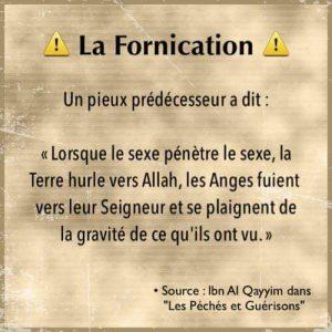 La gravité de <strong>la fornication</strong> en islam Qu'est ce que <strong>la fornication</strong>